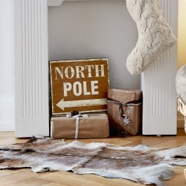 Decobord North Pole bruin