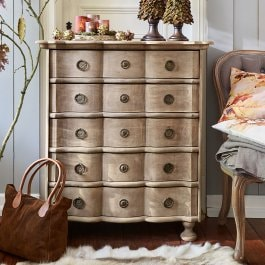 Commode Stanborough antiekbruin