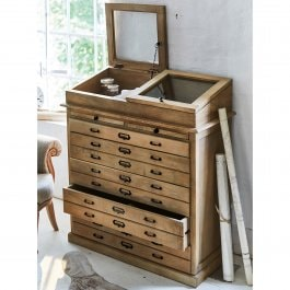 Commode Charrel antiekbruin