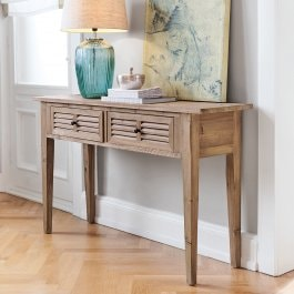 Sidetable Voclain antiekbruin