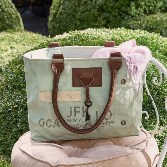 Tas London groen