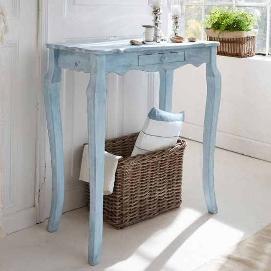 Sidetable Barbey antiekblauw